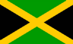 Jamaica Large Country Flag - 5' x 3'.